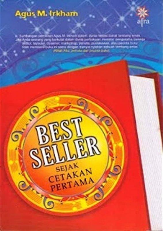 Cover Buku Best Seller Sejak Cetakan Pertama