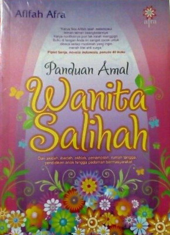 Cover Buku Panduan Amal Wanita Salihah
