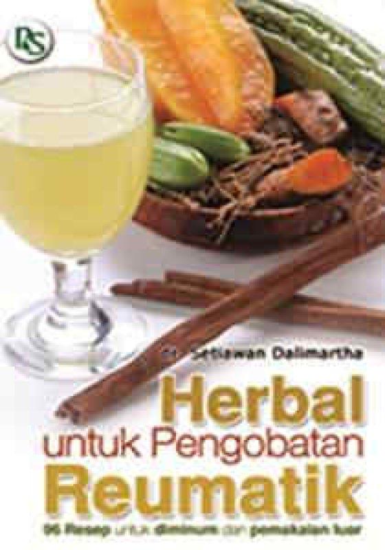 Cover Buku Herbal untuk Pengobatan Reumatik