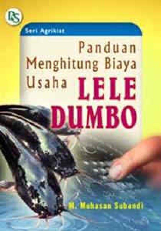 Cover Buku PANDUAN MENGHITUNG BIAYA USAHA LELE DUMBO