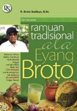 Cover Buku RAMUAN TRADISIONAL ALA EYANG BROTO