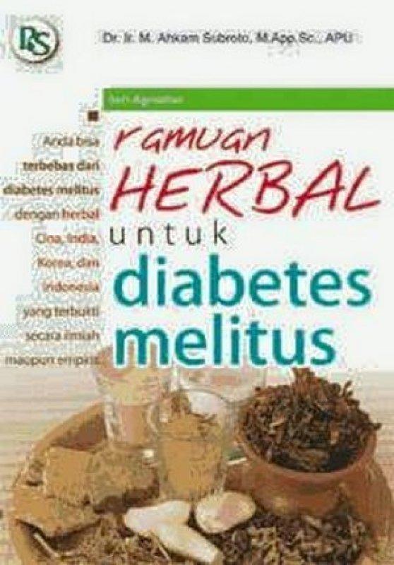 Cover Buku Ramuan Herbal untuk Diabetes Melitus
