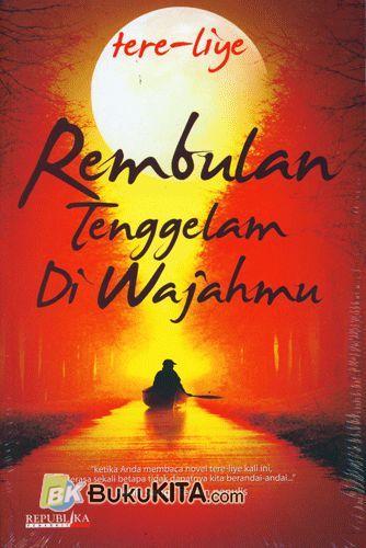 Cover Buku Rembulan Tenggelam di Wajahmu