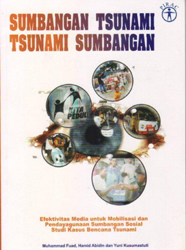 Cover Buku SUMBANGAN TSUNAMI, TSUNAMI SUMBANGAN