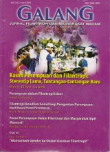 Cover Buku Jurnal GALANG Vol.2 No. 2 - April 2007
