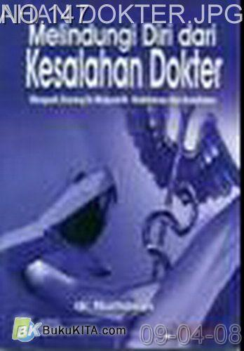 Cover Buku Melindungi Diri Dari Kesalahan Dokter