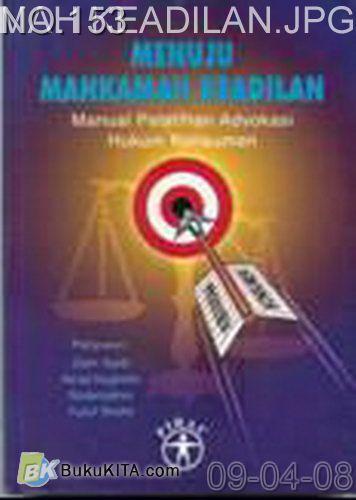 Cover Buku Menuju Mahkamah Keadilan