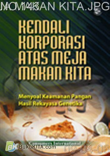 Cover Buku KENDALI KORPORASI ATAS MEJA MAKAN KITA