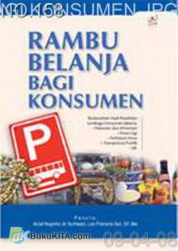 Cover Buku Rambu Belanja Bagi Konsumen
