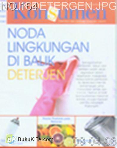Cover Buku Rambu Konsumen no 3 : NODA LINGKUNGAN DI BALIK DETERGEN