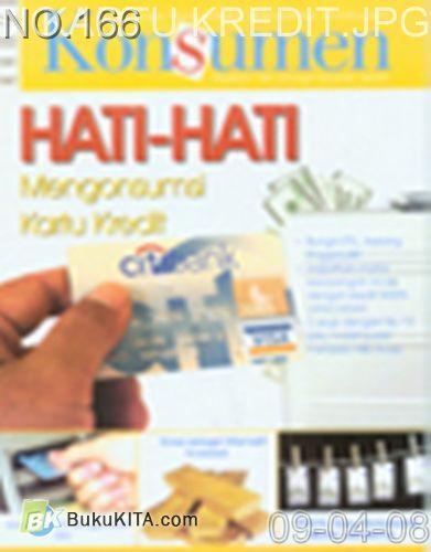 Cover Buku Rambu Konsumen no 5 : HATI-HATI MENGONSUMSI KARTU KREDIT