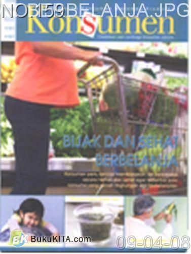 Cover Buku Rambu Konsumen no 10 : BIJAK DAN SEHAT BERBELANJA