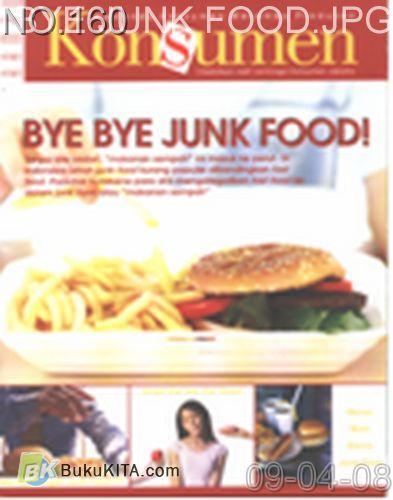 Cover Buku Rambu Konsumen no 11 : BYE BYE JUNK FOOD!