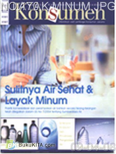 Cover Buku Rambu Konsumen no 12 : SULITNYA AIR SEHAT DAN LAYAK MINUM