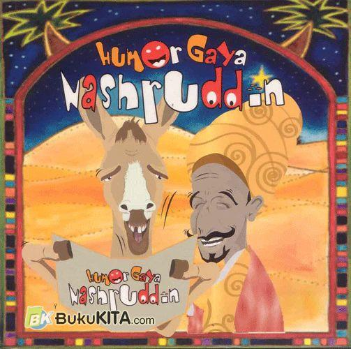 Cover Buku Humor Gaya Nashruddin