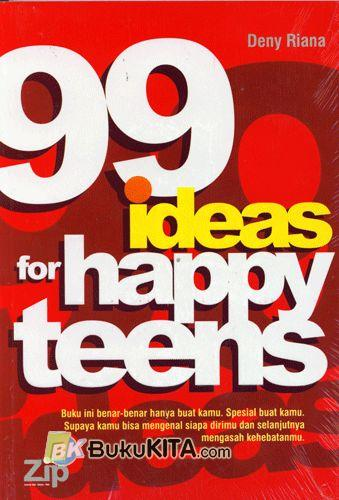 Cover Buku 99 Ideas for Happy Teens