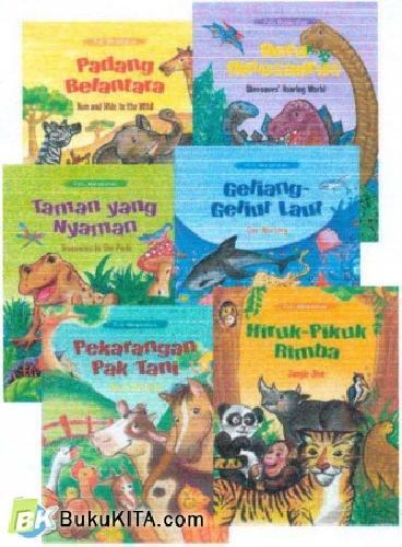 Cover Buku Seri Puisi Margasatwa, Bilingual