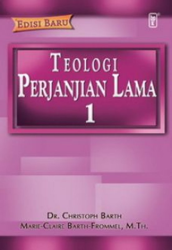 Cover Buku Teologi Perjanjian Lama 1