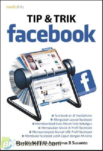 Cover Buku Tip dan Trik Facebook