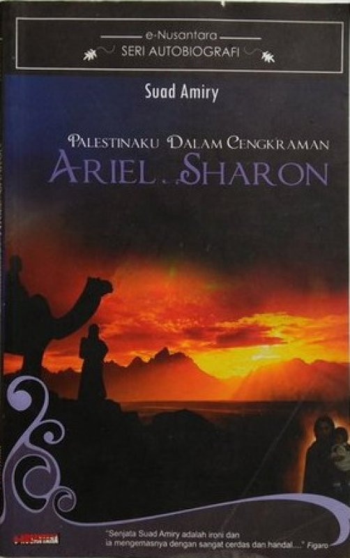 Cover Buku Palestina Dalam Cengkraman Ariel Sharon