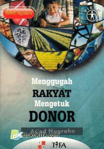 Cover Buku Menggugah Rakyat mengetuk Donor
