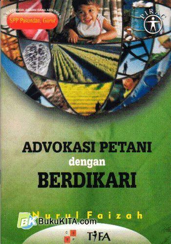 Cover Buku Advokasi Petani dengan Bedikari