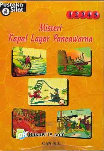 Cover Buku Misteri Kapal Layar Pancawarna #1-5 (Soft Cover)