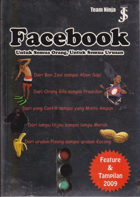 Cover Buku Facebook Untuk Semua Orang, Untuk Semua Urusan