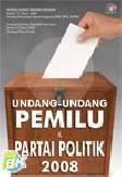 Undang-Undang Pemilu dan Partai Politik
