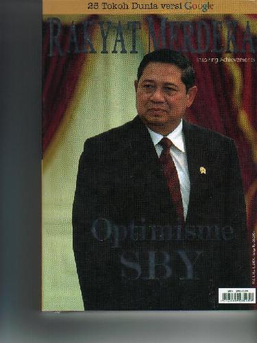 Cover Buku Optimisme SBY