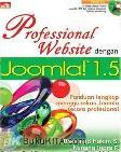 PROFESSIONAL WEBSITE DENGAN JOOMLA 1.5