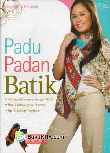 Cover Buku Padu Padan Batik