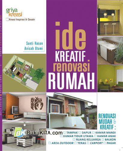 Cover Buku Ide Kreatif Renovasi Rumah