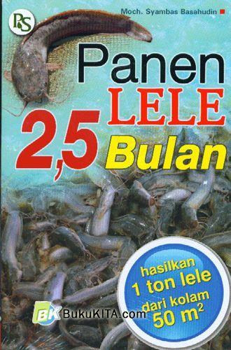 Cover Buku Panen Lele 2,5 Bulan