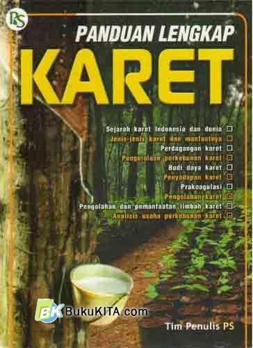 Cover Buku Panduan Lengkap Karet