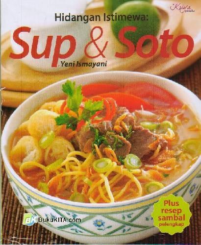 Cover Buku Hidangan Istimewa : Sup & Soto