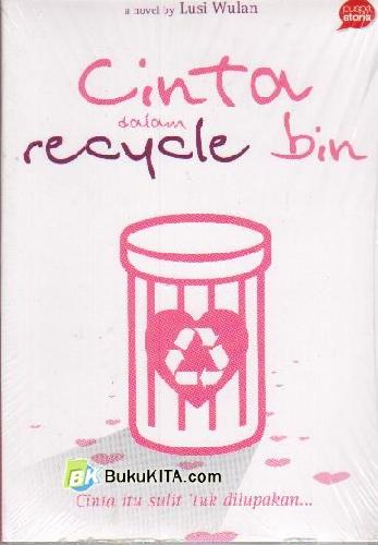 Cover Buku Cinta Dalam Recycle Bin