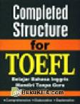 Completed Structure for TOEFL