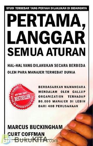 Cover Buku Pertama, Langgar Semua Aturan