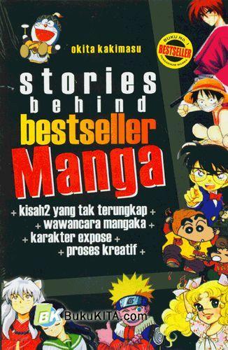 Cover Buku Stories Behind Bestseller Manga vol 1