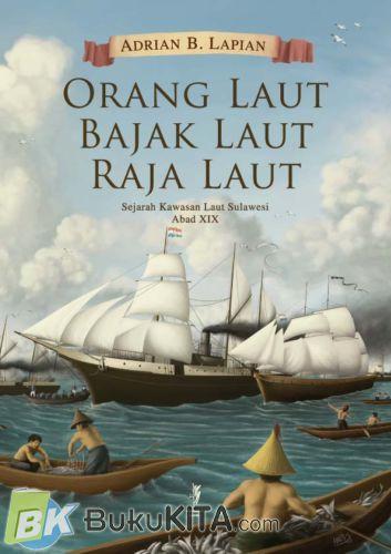 Cover Buku Orang Laut Bajak Laut Raja laut BK