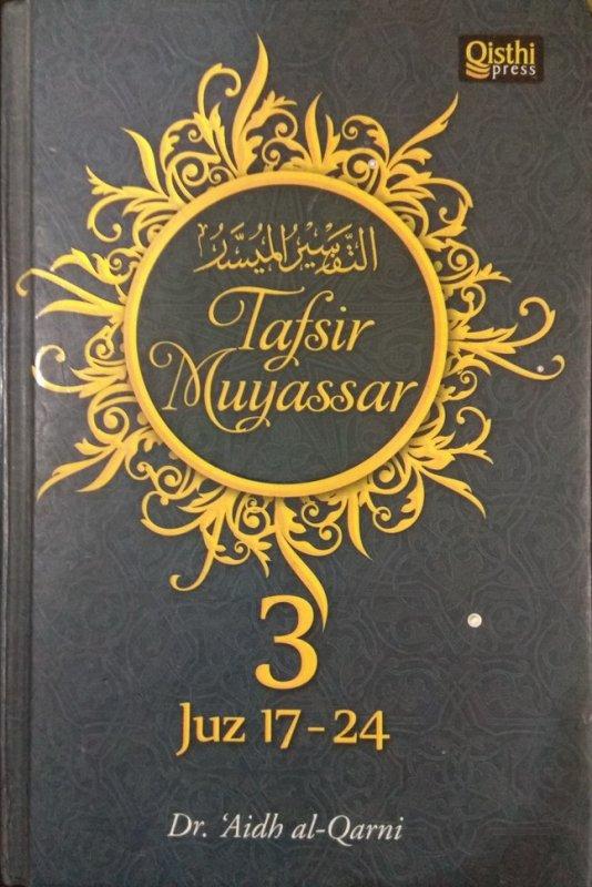 Cover Buku Tafsir Muyassar #3 (Juz 17-24)