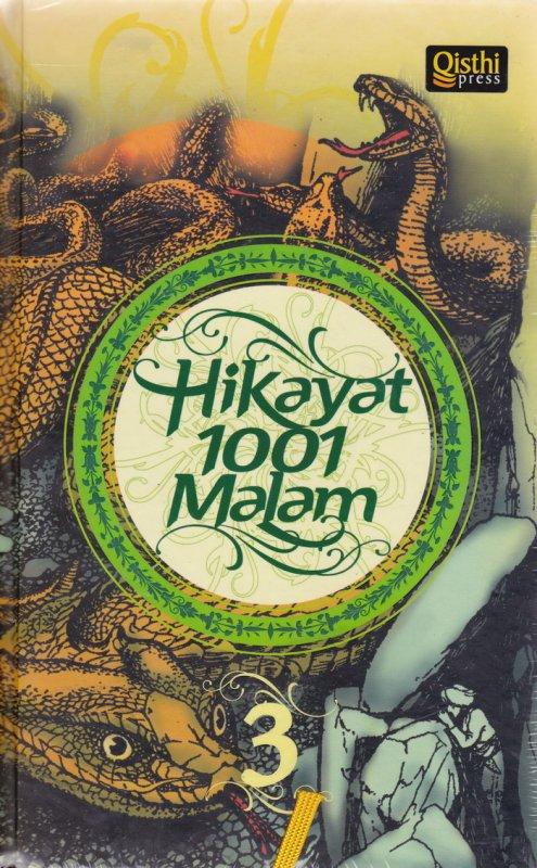 Cover Buku Hikayat 1001 Malam #3