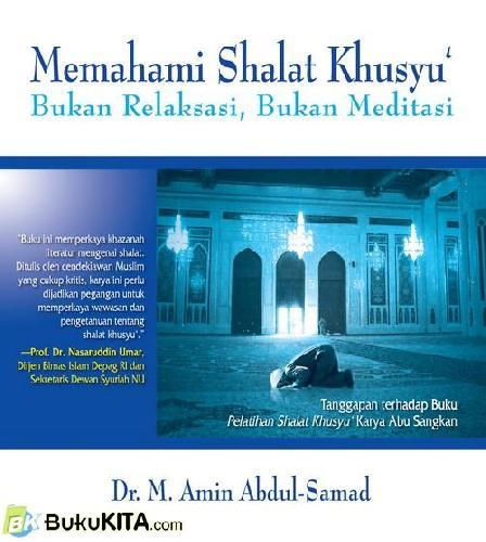Cover Buku Memahami Shalat Khusyu