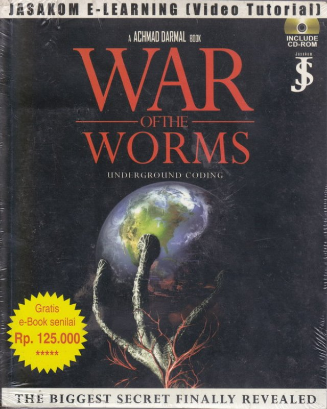 Cover Buku War of the Worms : Underground Coding