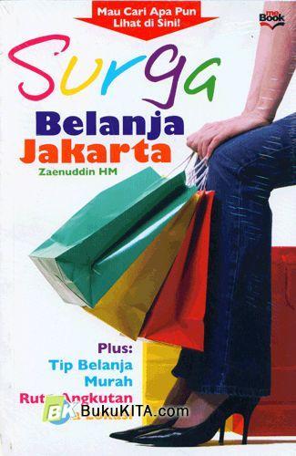 Cover Buku Surga Belanja Jakarta