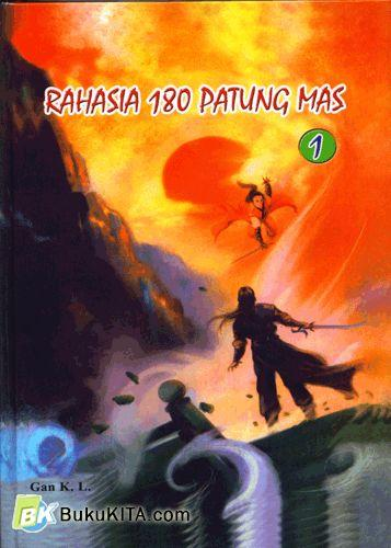 Cover Rahasia 180 Patung Mas 1-2 (Hard Cover)