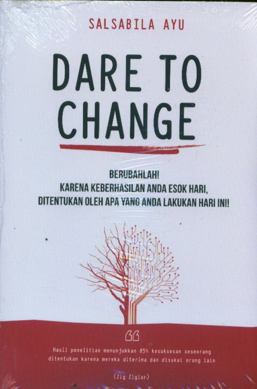 Cover Buku Dare To Change