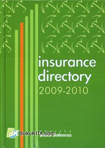 Cover Buku Insurance Directory 2009-2010
