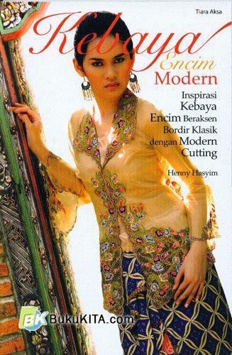Cover Buku Kebaya Encim Modern